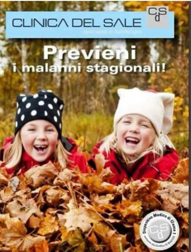 Clinica del sale Delebio - Previeni i malanni di stagione