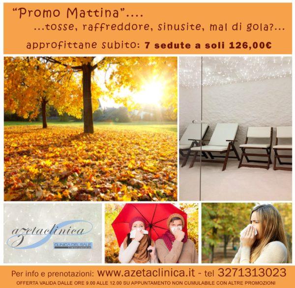 Azeta Clinica - Promozione autunno 2018 mattina