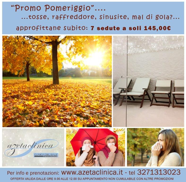 Azeta Clinica - Promozione autunno 2018 pomeriggio